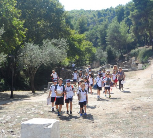 Year 4 Trip to Afidnes