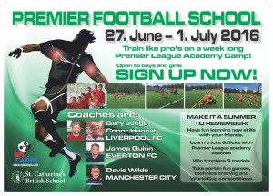 Football Camp (Years 4-9)