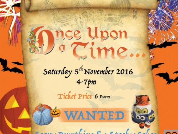 Once Upon a Time Halloween Poster