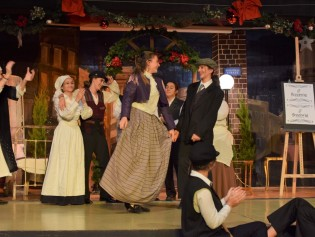 An amazing performance of the Christmas Carol
