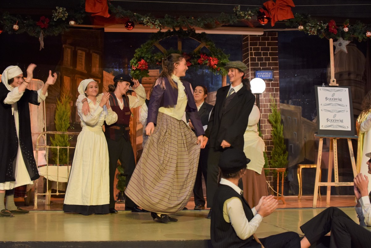 An amazing performance of A Christmas Carol