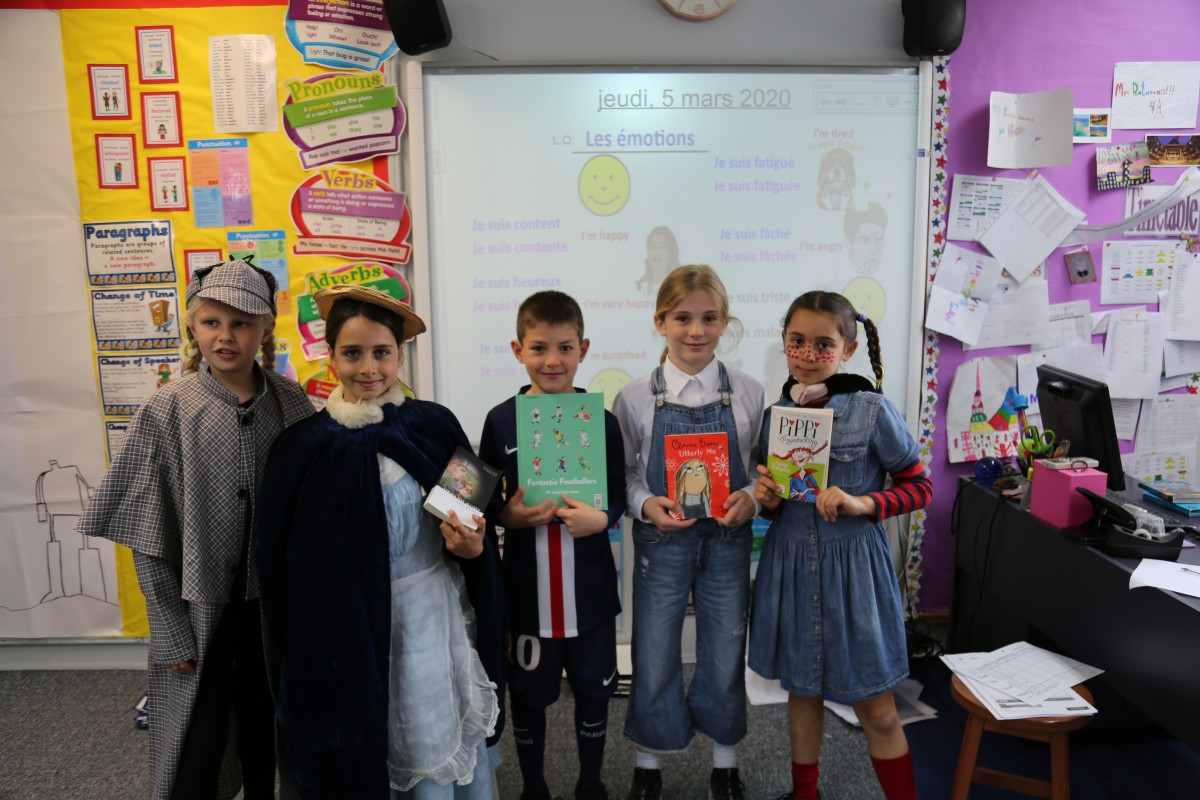 Lower School celebrates World Book Day!